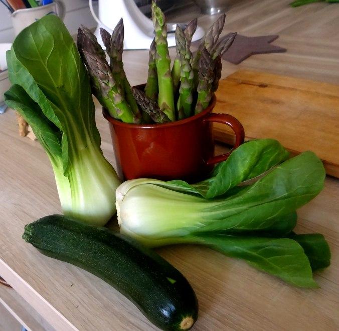 Gemüse Allerlei,Nudel Mix,vegetarisch (7)
