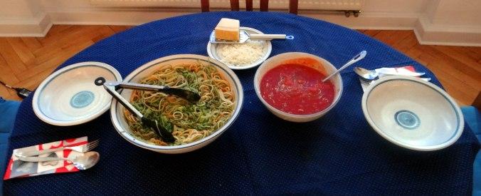 Zucchini Zoodles,Spaghetti,Tomatensauce (15)