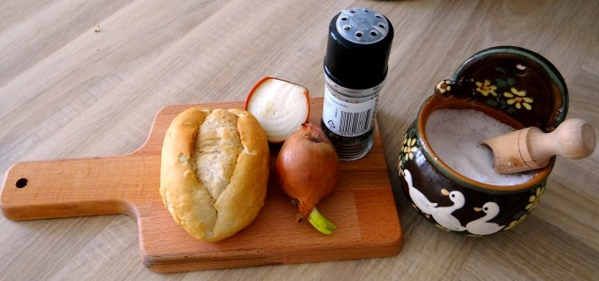 Gefüllte Portobello,Kartoffelstampf mit Rucola,Salate (8)
