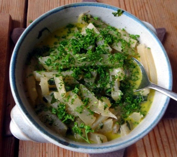 Kohlrabigemüse,Kartoffelgratin,vegetarisch (10)