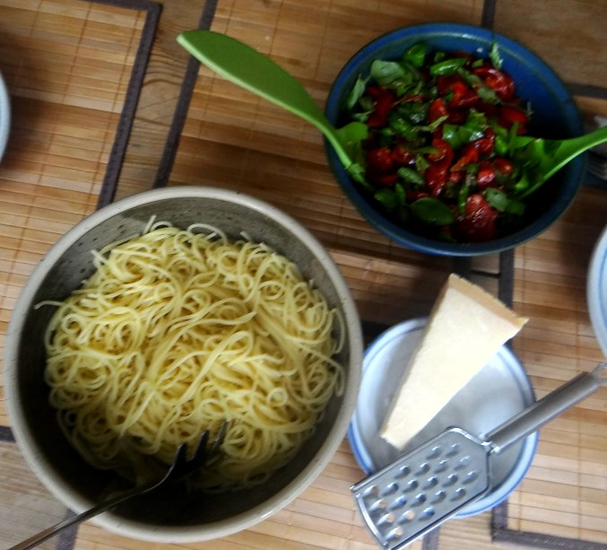 Spaghetti mit Keka,Waffeln (10)