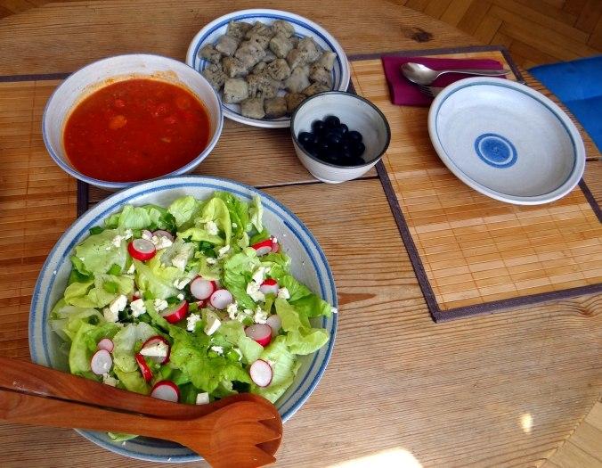 Oliven Gnocchis,Salat (4)