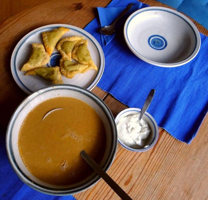 Maronensuppe,Teigtaschen,Wan Tan (4)