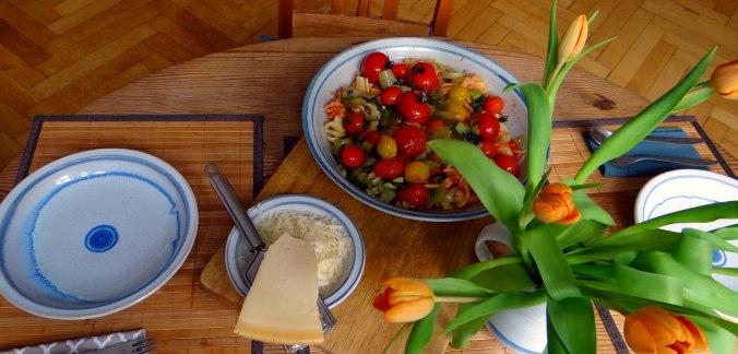 Pak Choy,Tomaten Spirelli (9)