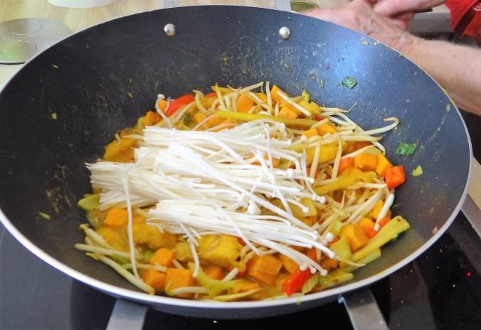 Kochbanane,Enoki,Süßkartoffel (11)