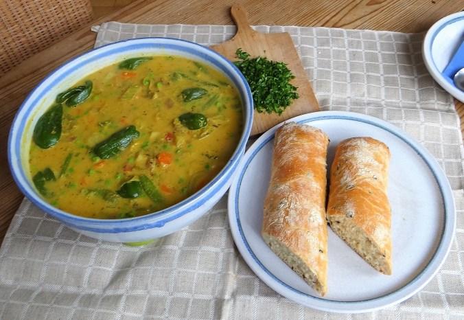 Gemüsesuppe,Süßkartoffel,Kokosmilch (12)