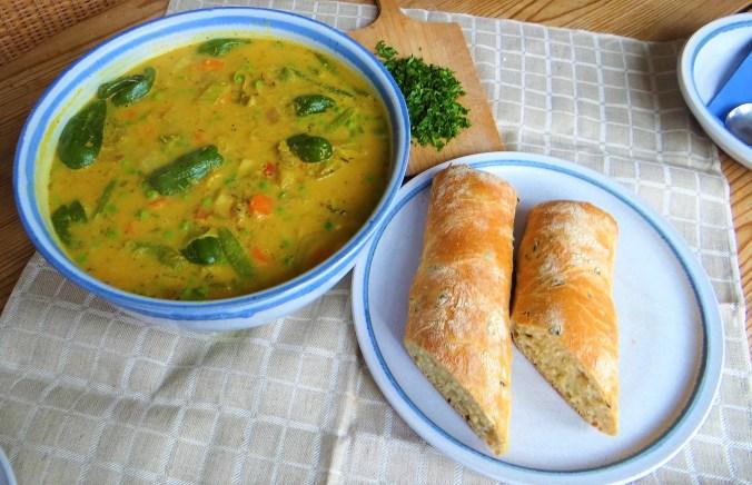 Gemüsesuppe,Süßkartoffel,Kokosmilch (4)