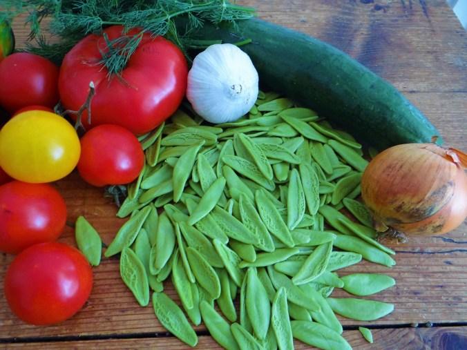 Scharfe Tomatensauce mit Muscheln (7)