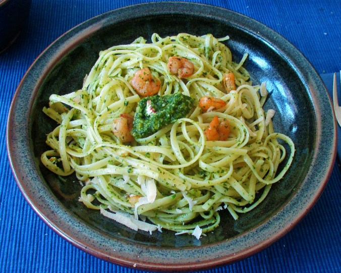 Supperfood,Wildkräuter Pesto,Linguine (4)