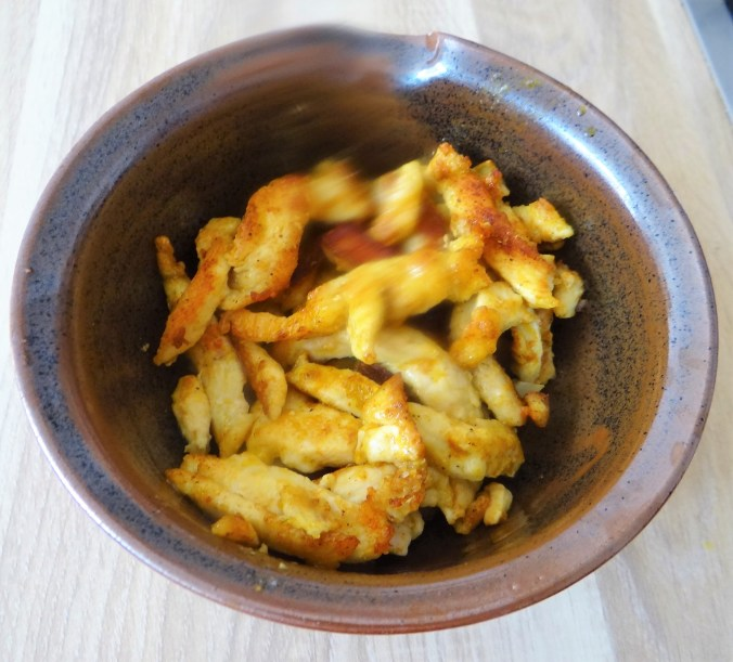 Wokgemüse,grüner Spargel,Glasudeln (7)