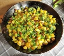 Roggebratene Kartoffeln,Pflaumenkuchen (9)