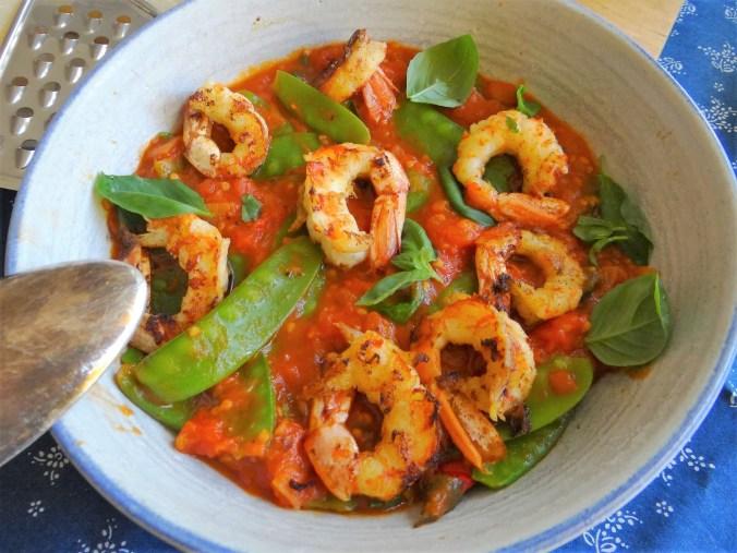 Garnelen auf Tomate (8)
