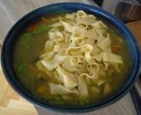 Gemüsesuppe mit Pappardelle (12)