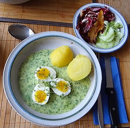 Kräutersauce,Eier,Salate,Pellkartoffeln (14)