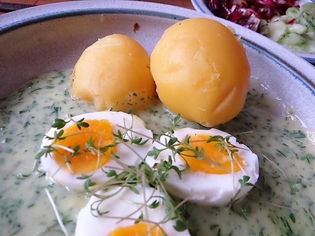 Kräutersauce,Eier,Salate,Pellkartoffeln (15)