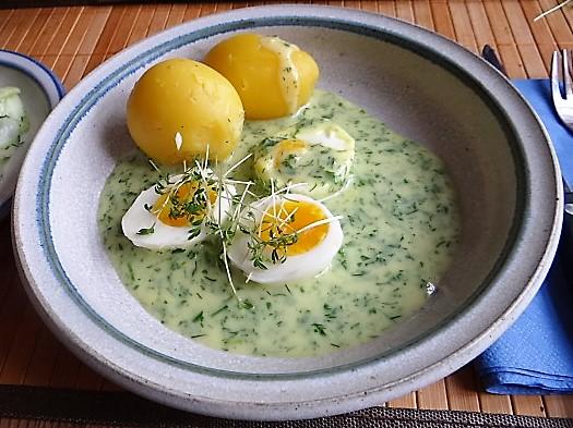 Kräutersauce,Eier,Salate,Pellkartoffeln (3)