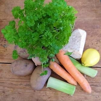 Feine Kartoffelsuppe,Foccacia (7)