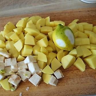 Feine Kartoffelsuppe,Foccacia (8)