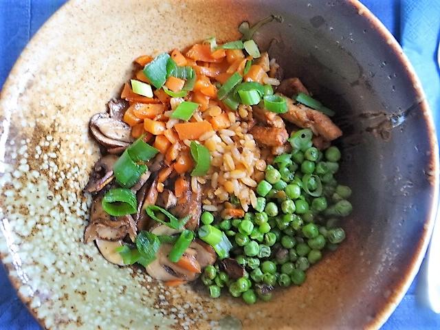 Reis mit Gemüse und Putenfleisch (2)
