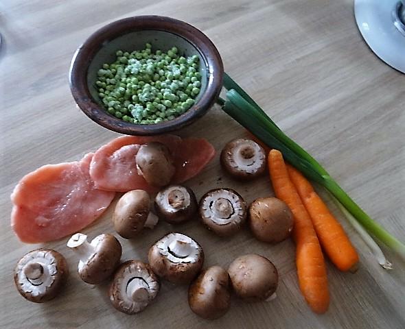 Reis mit Gemüse und Putenfleisch (7)
