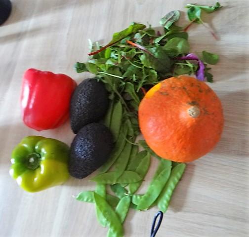 Süßkartoffeln,Kürbis,Guacamole (5)