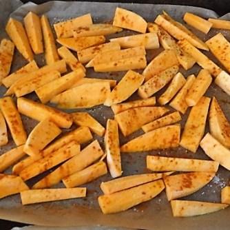 Süßkartoffeln,Kürbis,Guacamole (9)