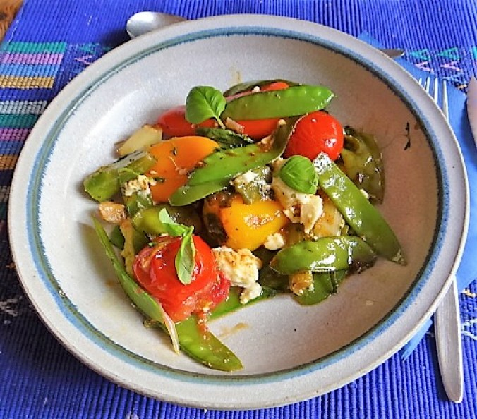 Wokgemüse,Feta (2)