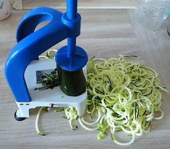 Zucchini Zoodles,Champignon,Tomaten (5)