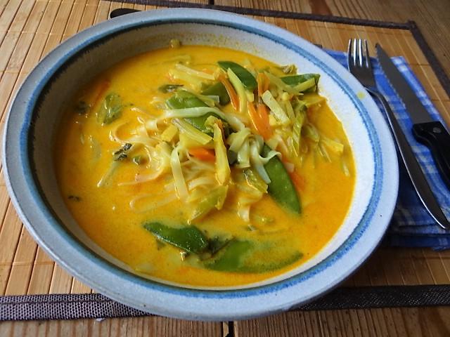 Asiatische Gemüsesuppe (2)