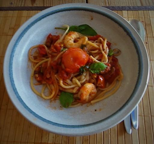 Garnelen mit Tomaten (10)