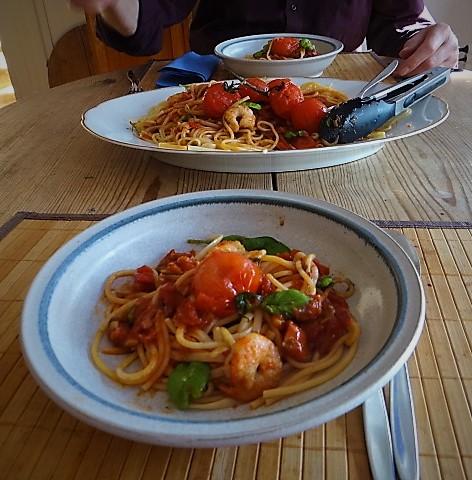 Garnelen mit Tomaten (11)