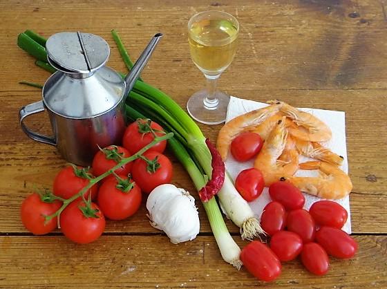 Garnelen mit Tomaten (5)