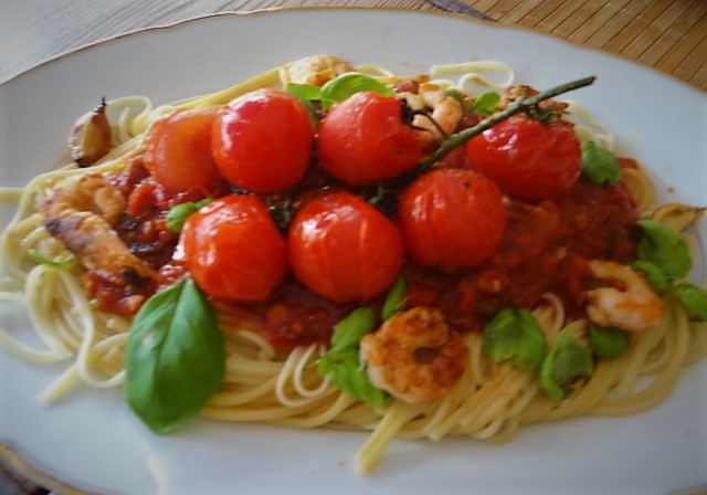Garnelen mit Tomaten (9)