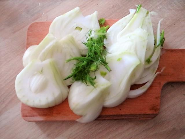 Ingwer Möhre,Pastinaken,gegrillter Fenchel,Orangensauce (9)