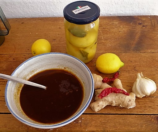 Pak Choy mit Miso Sauce (12)