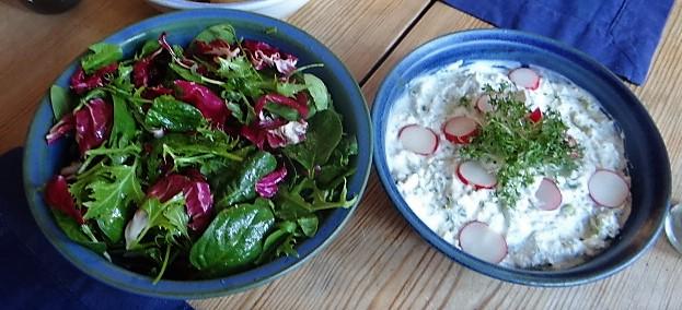 Quark,Kartoffeln,Salat (4)