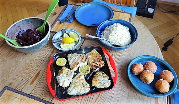 Rotbarsch,Reis,Rote Bete (4)