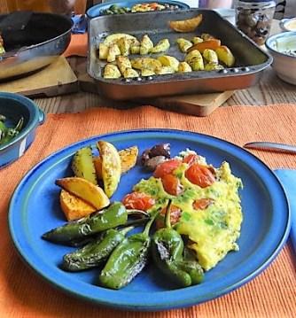 Frittata,Ofen Pommes,Pimientos (15)
