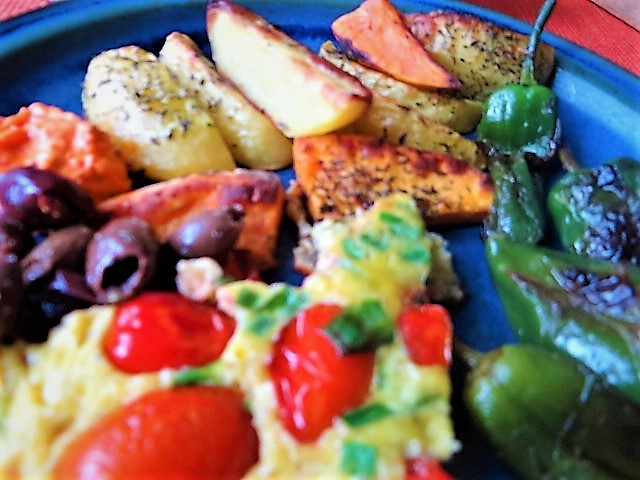 Frittata,Ofen Pommes,Pimientos (3)