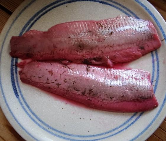 Marinierter Hering,Bunter Salat, Bratkartoffeln (16)