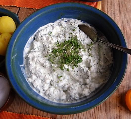 Quark,Kartoffeln,Gurkensalat (7)