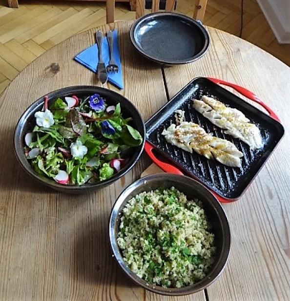Rotbarsch,Couscous,Bunter Salat (13)