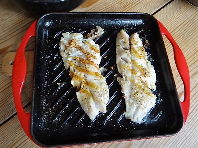 Rotbarsch,Couscous,Bunter Salat (7)