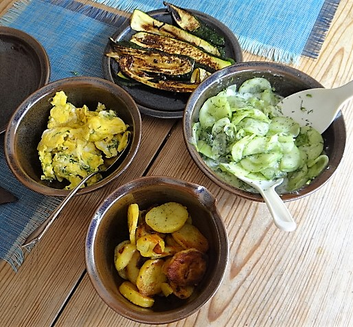 Bratkartoffel-Rührei-Salat (2)