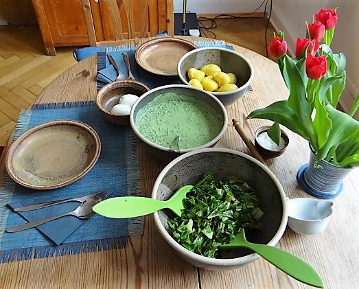 Frankfurter grüne Soße,Puntarelle(5)