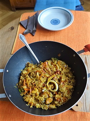 Nasi Goreng mit Meeresfrüchten,Dessert (10)
