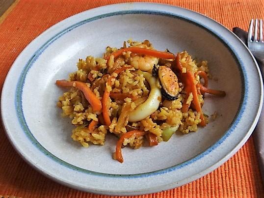 Nasi Goreng mit Meeresfrüchten,Dessert (7)