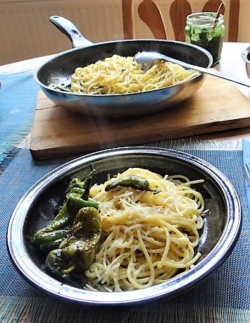 Spaghetti mit Knoblauch (4)