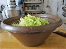 Krautsalat,Tzatziki,Kartoffelspalten,Hackbällchen (11)