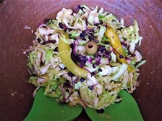 Krautsalat,Tzatziki,Kartoffelspalten,Hackbällchen (21)
